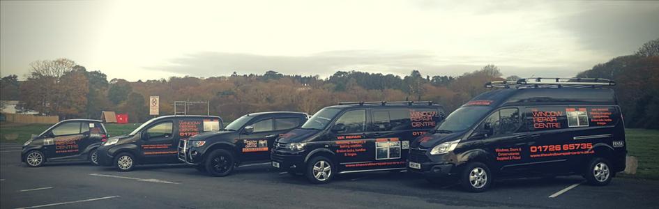 Window Repair Centre Cornwall vehicles