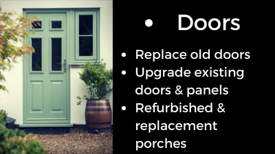 composite doors WRC homepage & services